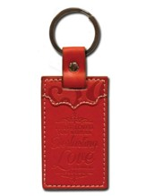 Everlasting Love, Jeremiah 31:3 Keychain, Red