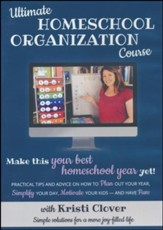 Ultimate Homeschool Organization  Course on DVD