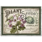 Seed Packet Label Pallet Art