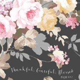 Thankful Napkins, Floral, Pack of 20