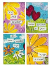 Birthday for Her Cards, Box of 12