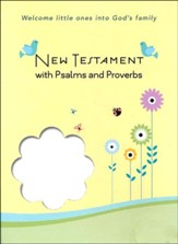CEB Common English Bible Baby New Testament with Psalms & Proverbs, White