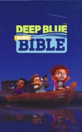 CEB Common English Bible Deep Blue Kids Bible-imitation leather, Classic Navy