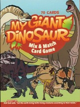 My Giant Dinosaur Fun Mix and Match Card Game