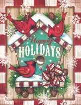Christmas Cards, Happy Holidays, Cardinals, Box Of 18