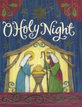 Christmas Cards, O Holy Night, Holy Family, Box Of 12