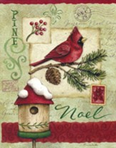 Christmas Cards, Noel, Cardinal, Box Of 12