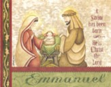 Christmas Cards, Emmanuel, Holy Family, Box Of 12