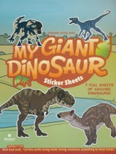 My Giant Dinosaur Fun Sticker Sheet