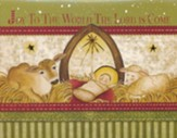 Christmas Cards, Joy To The World, Creche, Box Of 12