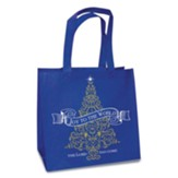 Joy to the World, Eco Tote, Blue
