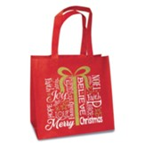 Present, Eco Tote, Red