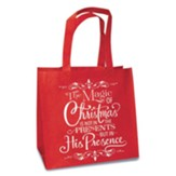 His Presence, Eco Tote, Red