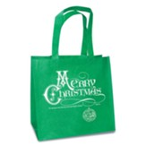 Merry Christmas, Eco Tote, Green
