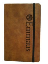 Emmaus, Leather Journal, Large, Tan
