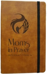 Moms in Prayer Large Notebook, Tan