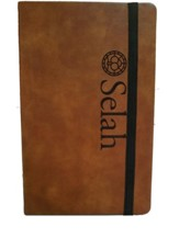 Selah, Leather Journal, Large, Tan