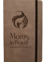 Moms in Prayer Large Notebook, Gray