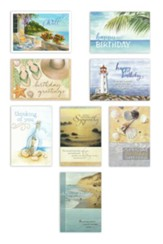 All Occasion, Shoreline Greetings  Value Box Cards, Box of 24