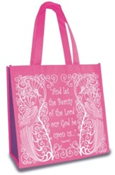Beauty, Eco Tote, Pink