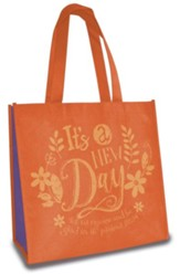 New Day, Eco Tote, Orange