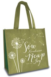 Sow Kindness, Eco Tote, Olive