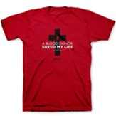 Blood Donor Shirt, Red, Small, Unisex