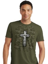 Military Cross Shirt, Green, Small
