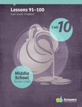 Answers Bible Curriculum Middle School Unit 10 Teacher Guide (2nd Edition)