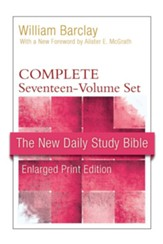 New Daily Study Bible, Large-Print Edition: Complete Set