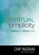 Spiritual Simplicity: Doing Less, Loving More - eBook