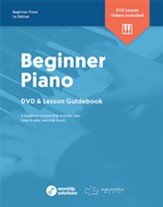 Worship Solutions: Beginner Piano, DVD + Booklet