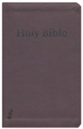 ERV Holy Bible--soft leather-look, russet