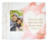 Personalized, Photo Frame Box, 4x6, with Heart, Love