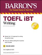 TOEFL iBT Writing (with online  audio)