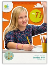 Answers Bible Curriculum Grades 4-5 Unit 11 Teacher Kit (2nd Edition)