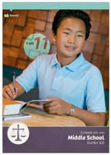 Answers Bible Curriculum Middle School Unit 11 Teacher Kit (2nd Edition)