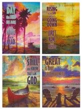 Beach and Lake Scenes Encouragement Cards, Box of 12