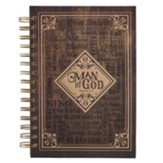 Man of God, Spiral-bound Journal
