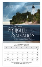 Light And Salvation, 2022 Mini Magnetic Calendar