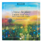 I Know The Plans 2022 Wall Calendar, Small