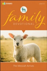 Answers Bible Curriculum Adults Unit 13 Family Devotional (2nd Edition)