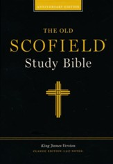Old Scofield Study Bible Classic Edition, KJV, Bonded Leather black - Slightly Imperfect