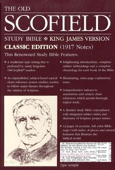 Old Scofield Study Bible Classic  Edition, KJV, Bonded Leather burgundy