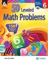 50 Leveled Math Problems Level 6 - PDF Download [Download]