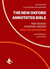 The NRSV New Oxford Annotated Bible with the Apocrypha, 5th Edition