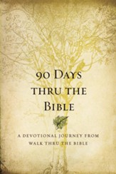 90 Days Thru the Bible: A Devotional Journey from Walk Thru the Bible - eBook