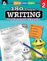 180 Days of Writing for Second Grade - PDF Download [Download]