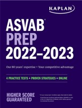 ASVAB Prep 2022-2023: 4 Practice  Tests + Proven Strategies + Online