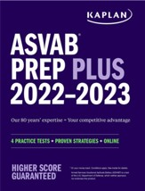 ASVAB Prep Plus 2022-2023: 6  Practice Tests + Proven Strategies + Online + Video